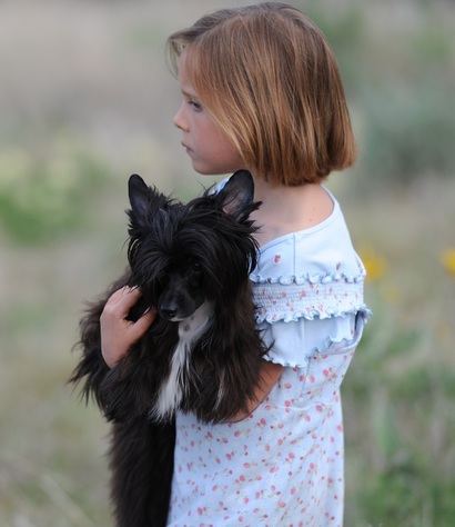 Calli and Lola ~ an inseperable pair ~  Legacy Powderpuffs at BoulderCrest Ranch