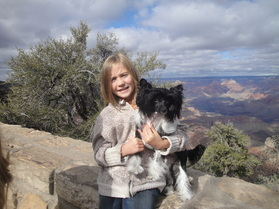 Tori and Clea ~ Grand Canyon 2011 ~  Legacy Powderpuffs at BoulderCrest Ranch