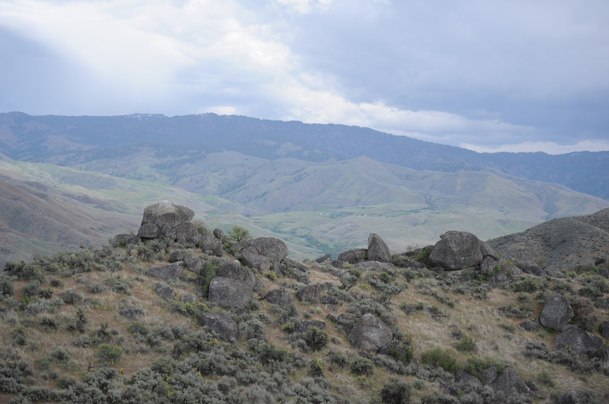 View from BoulderCrest Ranch